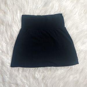American Apparel Black Mini Skirt